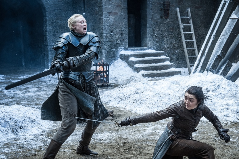 Game of Thrones Season 7 Episode 4 Brienne Arya