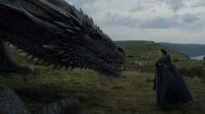 Game of Thrones Season 7 Episode 5 Jon Snow Dragon