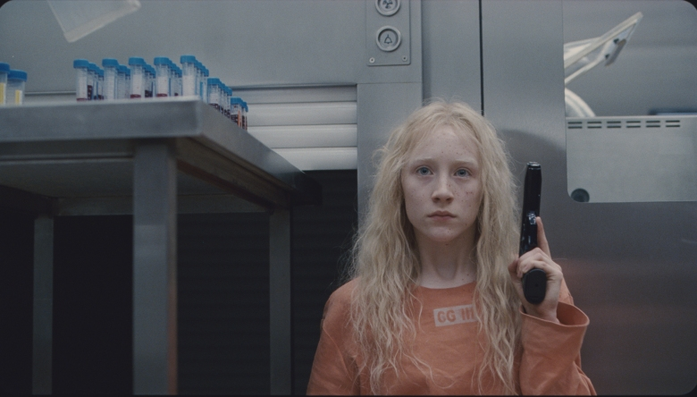 Saoirse Ronan stars as the teenaged title character in Joe Wright's adventure thriller HANNA, a Focus Features release.