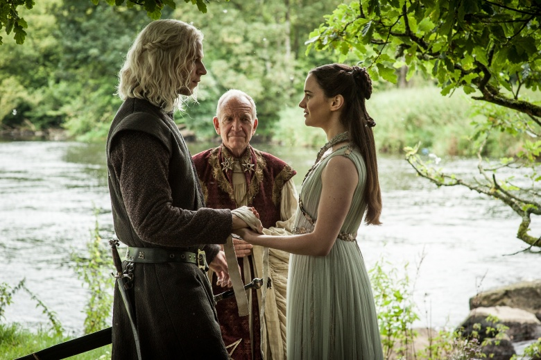 "Wilf Scolding and Aisling Franciosi, ""Game of Thrones"""