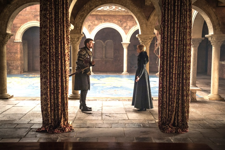 "Nikolaj Coster-Waldau and Lena Headey, ""Game of Thrones"""