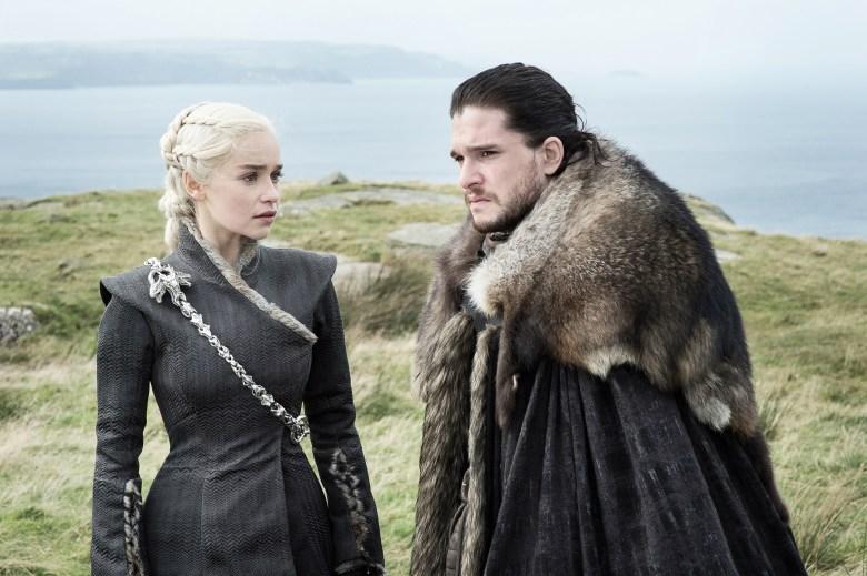 "Emilia Clarke and Kit Harington, ""Game of Thrones"""