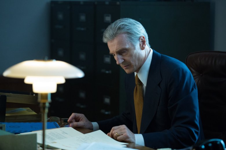 Liam Neeson in Mark Felt The Man Who Brought Down the White House