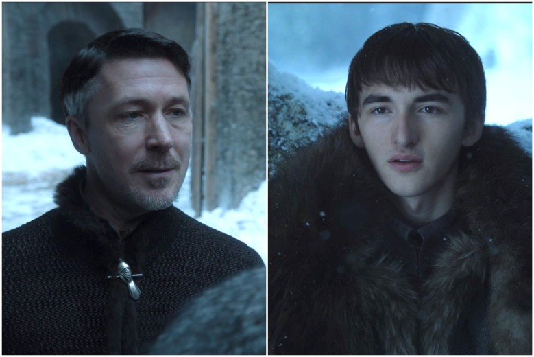 "Aidan Gillen and Isaac Hempstead Wright, ""Game of Thrones"""