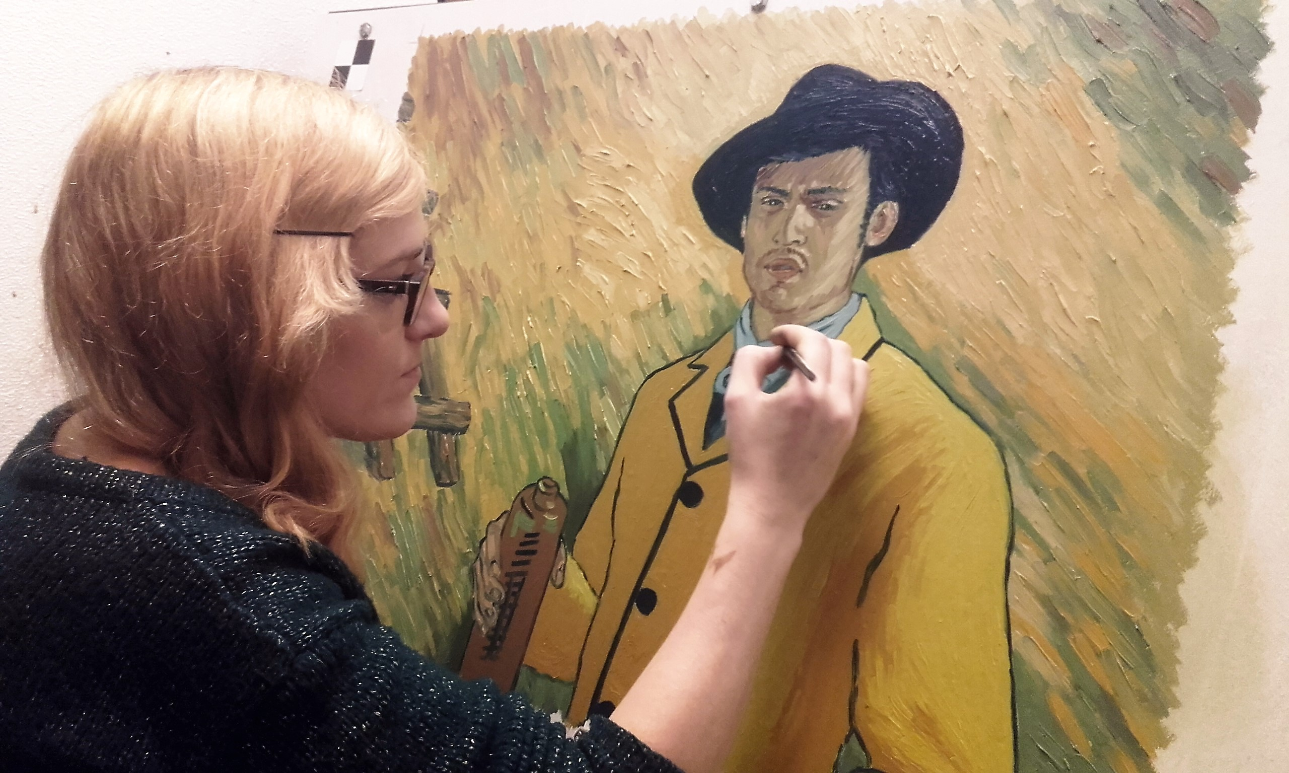 'Loving Vincent': How 125 Artists and 65,000 Paintings Made the World's First Oil-Painted Movie
