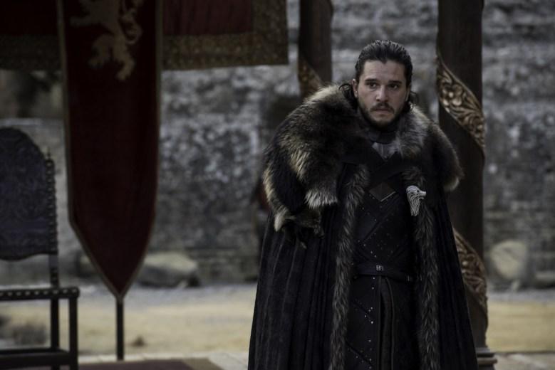 Game of Thrones Season 7 Episode 7 finale Kit Harington