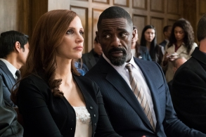 Jessica Chastain and Idris Elba in MOLLY'S GAME