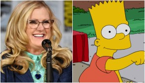 "Nancy Cartwright and Bart Simpson, ""The Simpsons"""