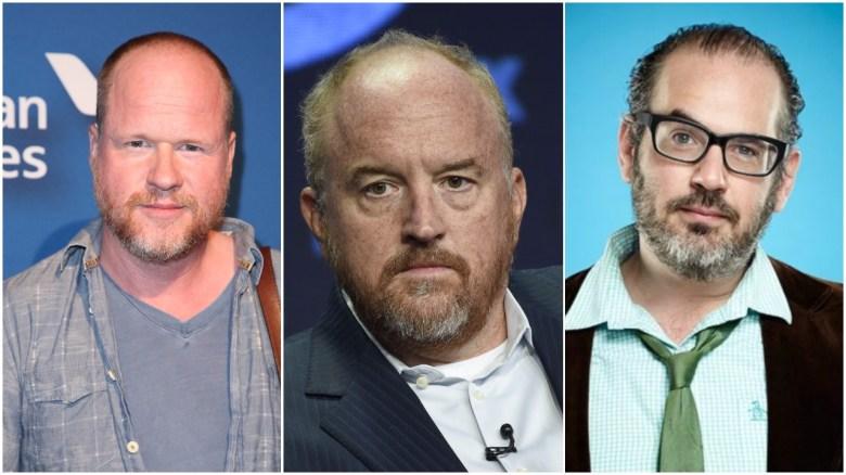 Joss Whedon, Louis C.K. and Hadrian Belove