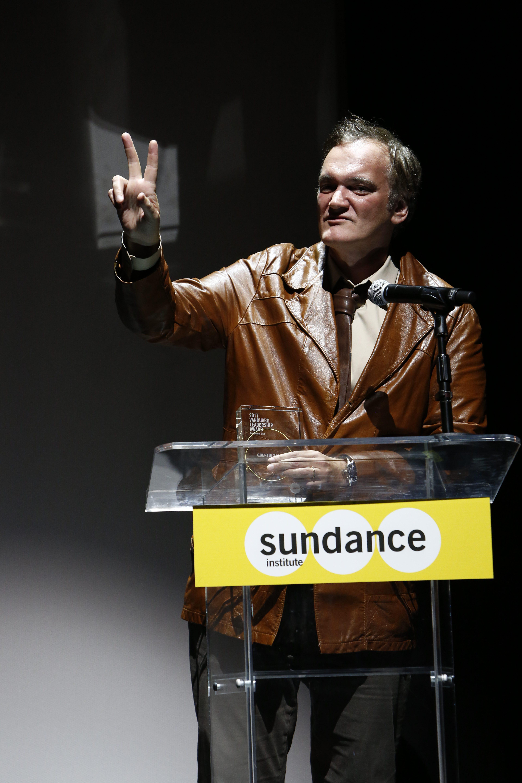 Quentin Tarantino at Sundance Next Fest