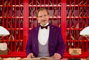 "Ralph Fiennes in ""The Grand Budapest Hotel"""