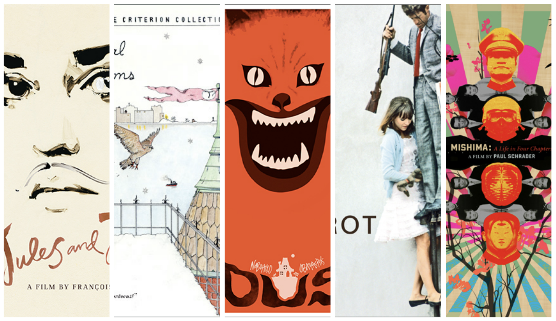 The 50 Best Criterion Covers Film Art