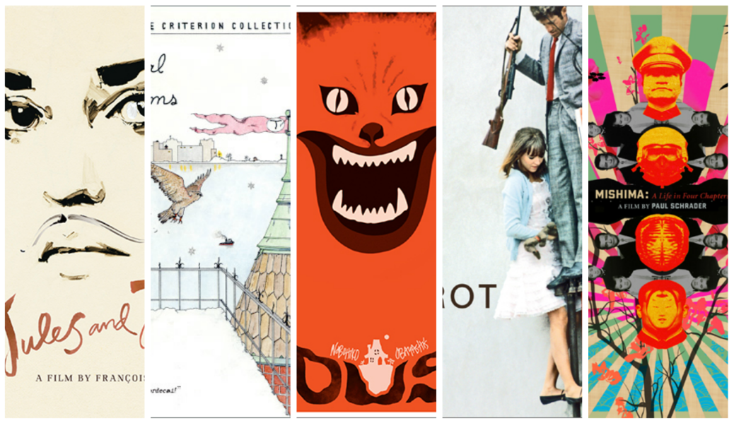 The 50 Best Criterion Covers Film Art We Love From Collection