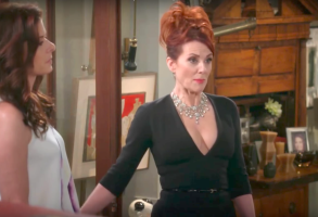 "Debra Messing and Megan Mullally, ""Will & Grace"""