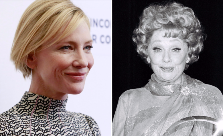Cate Blanchett And Aaron Sorkin 8217 S Lucille Ball Biopic Heads To
