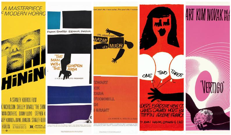 Every Movie Poster Saul Bass Ever Designed