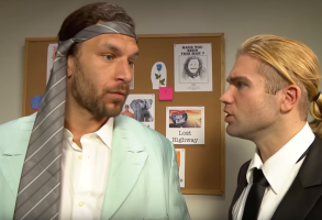 WWE Twin Peaks parody