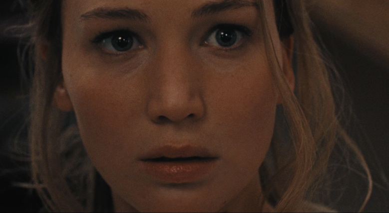 "Jennifer Lawrence in ""mother!"""