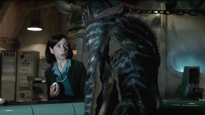 The Shape Of Water Review Guillermo Del Toro S Fairy Tale