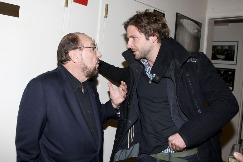 James Lipton and Bradley CooperThe Actors Studio presents a private screening of 'A Letter to Elia', New York, America - 01 Nov 2010The Actors Studio presents a screening of 'A Letter to Elia'. The documentary directed by Martin Scorsese is about the life of Elia Kazan who was co-founder of The Actors Studio. Today's co-presidents of the Actors Studio are Harvey Keitel, Ellen Burstyn and Al Pacino.