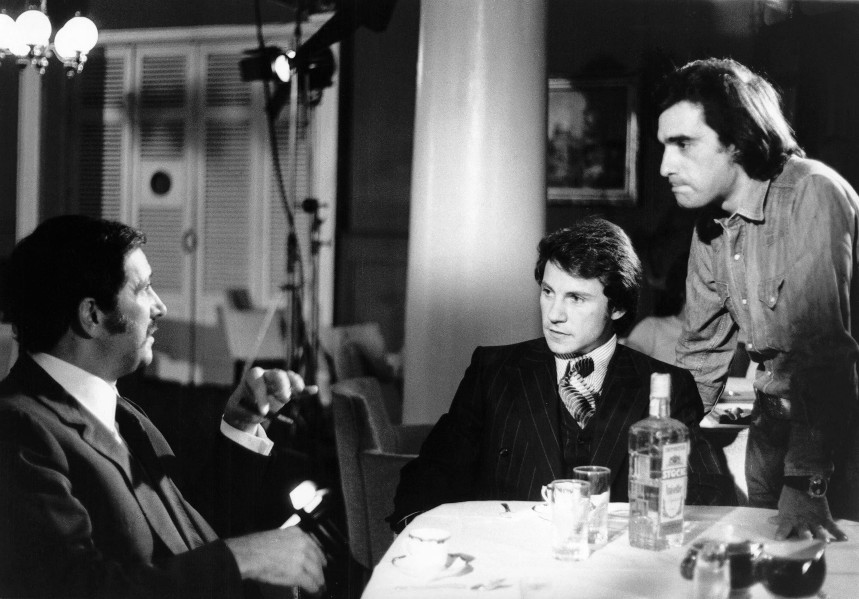 Image result for martin scorsese behind the scene