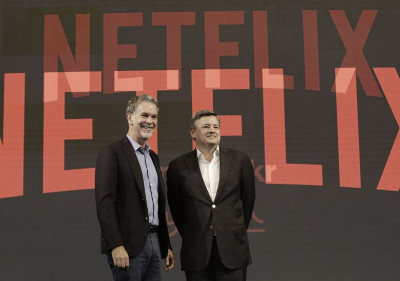 netflix reed hastings ted sarandos