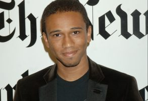 "Aaron McGruder, creator of ""The Boondocks,"" poses for photos before taking part in the New York Times' TimesTalks: Special Edition conversations, at the 5th Annual New York Times Arts & Leisure Weekend, in New YorkTIMES TALKS, NEW YORK, USA"