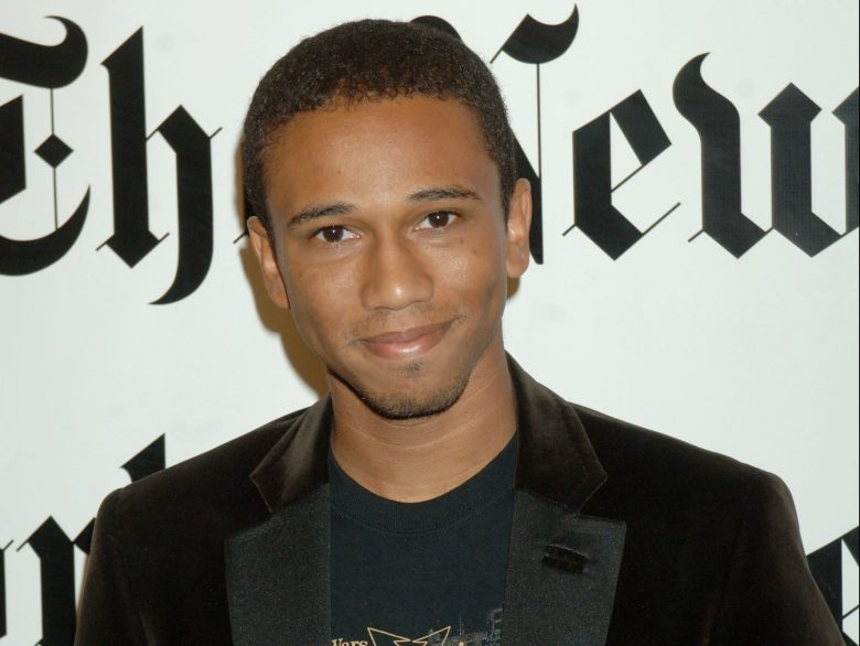 """Aaron McGruder, creator of """"The Boondocks,"""" poses for photos before taking part in the New York Times' TimesTalks: Special Edition conversations, at the 5th Annual New York Times Arts & Leisure Weekend, in New YorkTIMES TALKS, NEW YORK, USA"""
