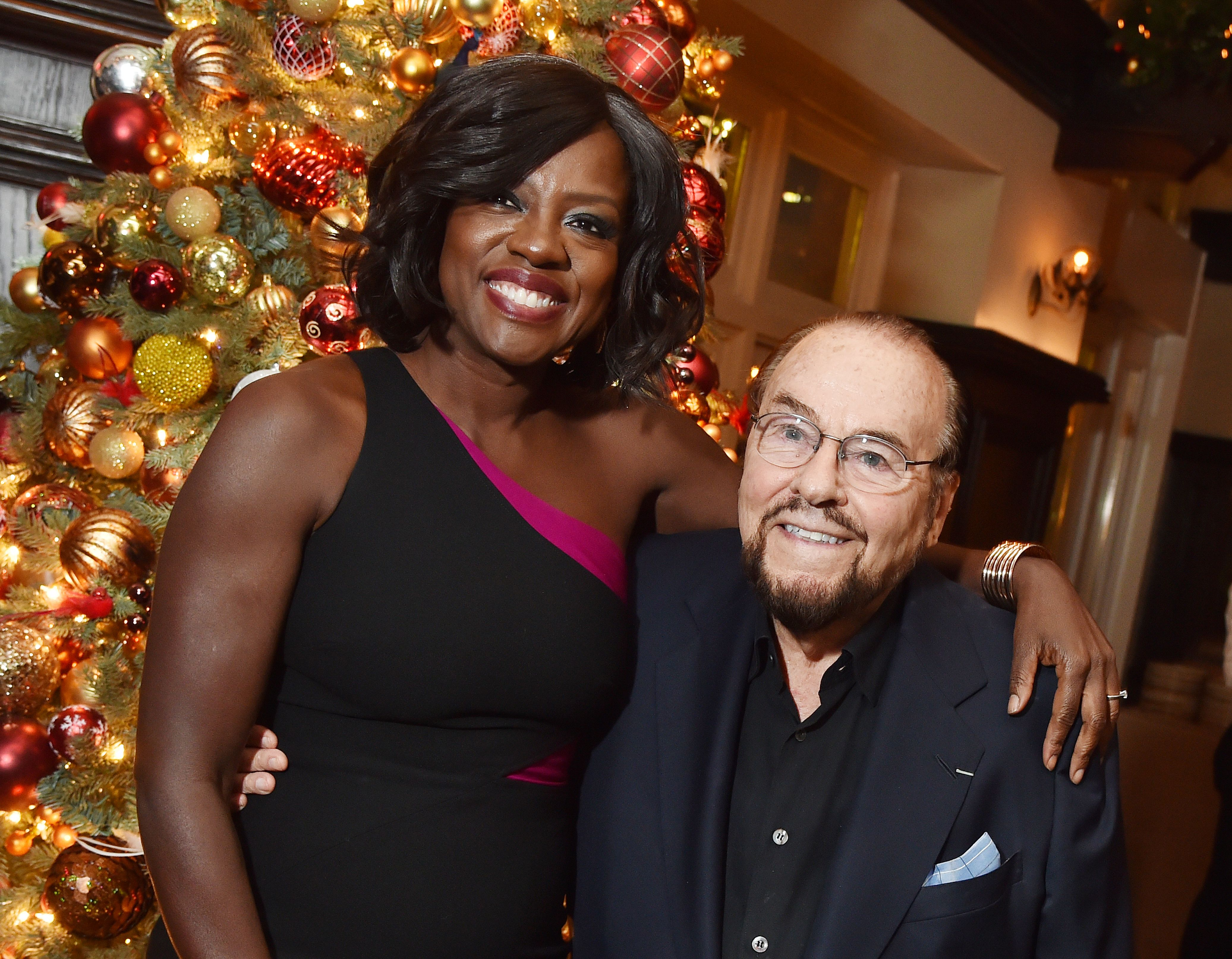 Viola Davis and James Lipton'Fences' film screening, After Party, New York, USA - 19 Dec 2016