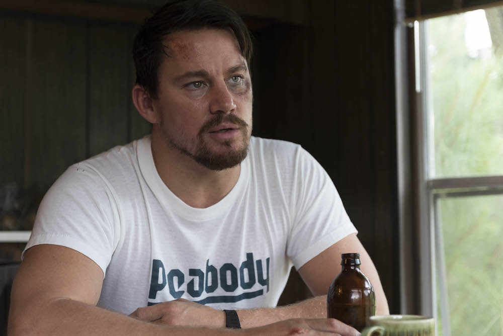 "No Merchandising. Editorial Use Only. No Book Cover UsageMandatory Credit: Photo by C Barius/Trans Radial/Kobal/REX/Shutterstock (8982455a)Channing Tatum""Logan Lucky"" Film - 2017"