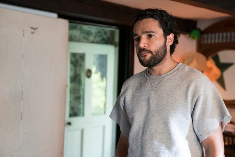 "THE SINNER -- ""Part IV"" Episode 104 -- Pictured: Christopher Abbott as Mason Tannetti -- (Photo by: Peter Kramer/USA Network)"