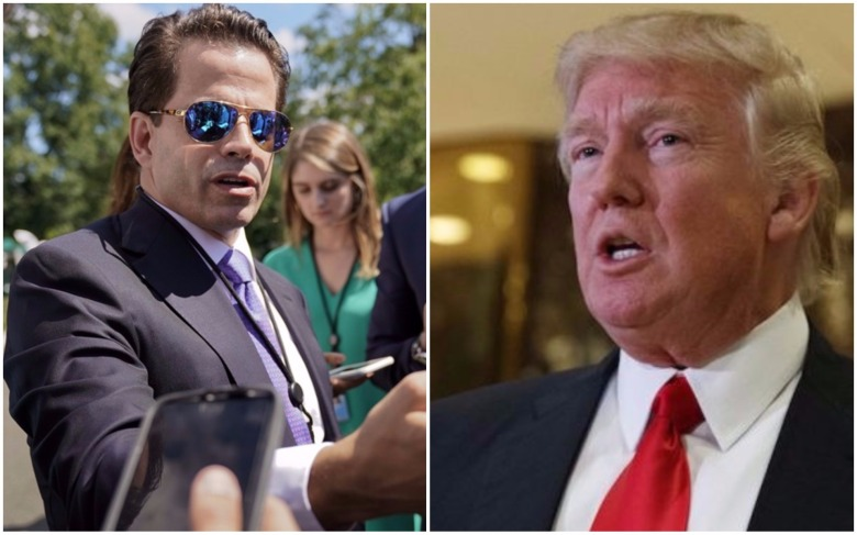 trump the mooch scaramucci scary wall street 2