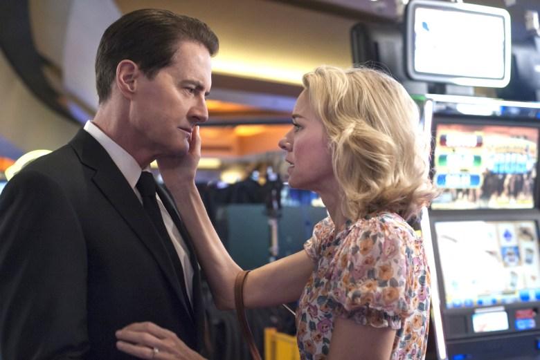 "Kyle MacLachlan and Naomi Watts, ""Twin Peaks"""