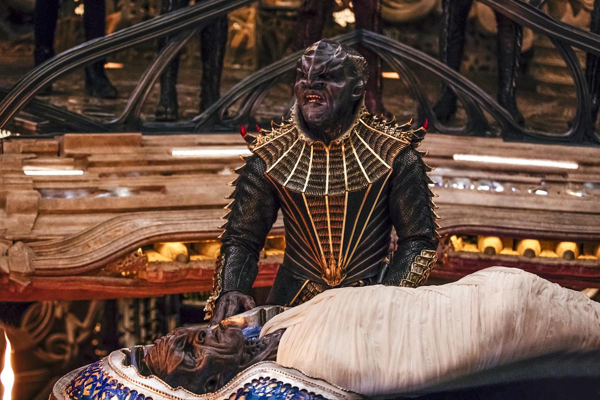 Star trek klingon sex