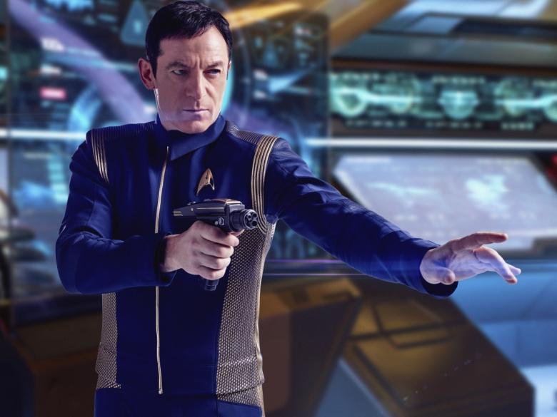 Jason Isaacs as Captain Gabriel Lorca. STAR TREK: DISCOVERY coming to CBS All Access. Photo: James Dimmock / CBS 2017©CBS Interactive.