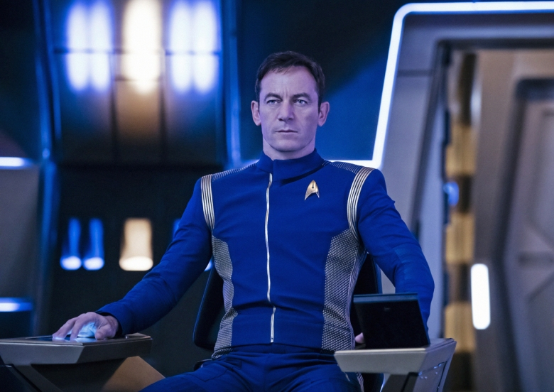 Jason Isaacs as Captain Gabriel Lorca. STAR TREK: DISCOVERY coming to CBS All Access. Photo Cr: Jan Thijs © 2017 CBS Interactive