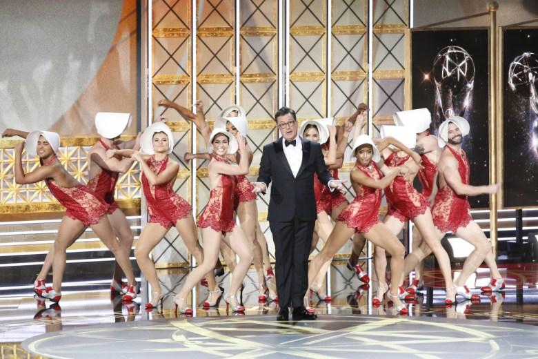 The 69th Primetime Emmy Awards Emmys Stephen Colbert