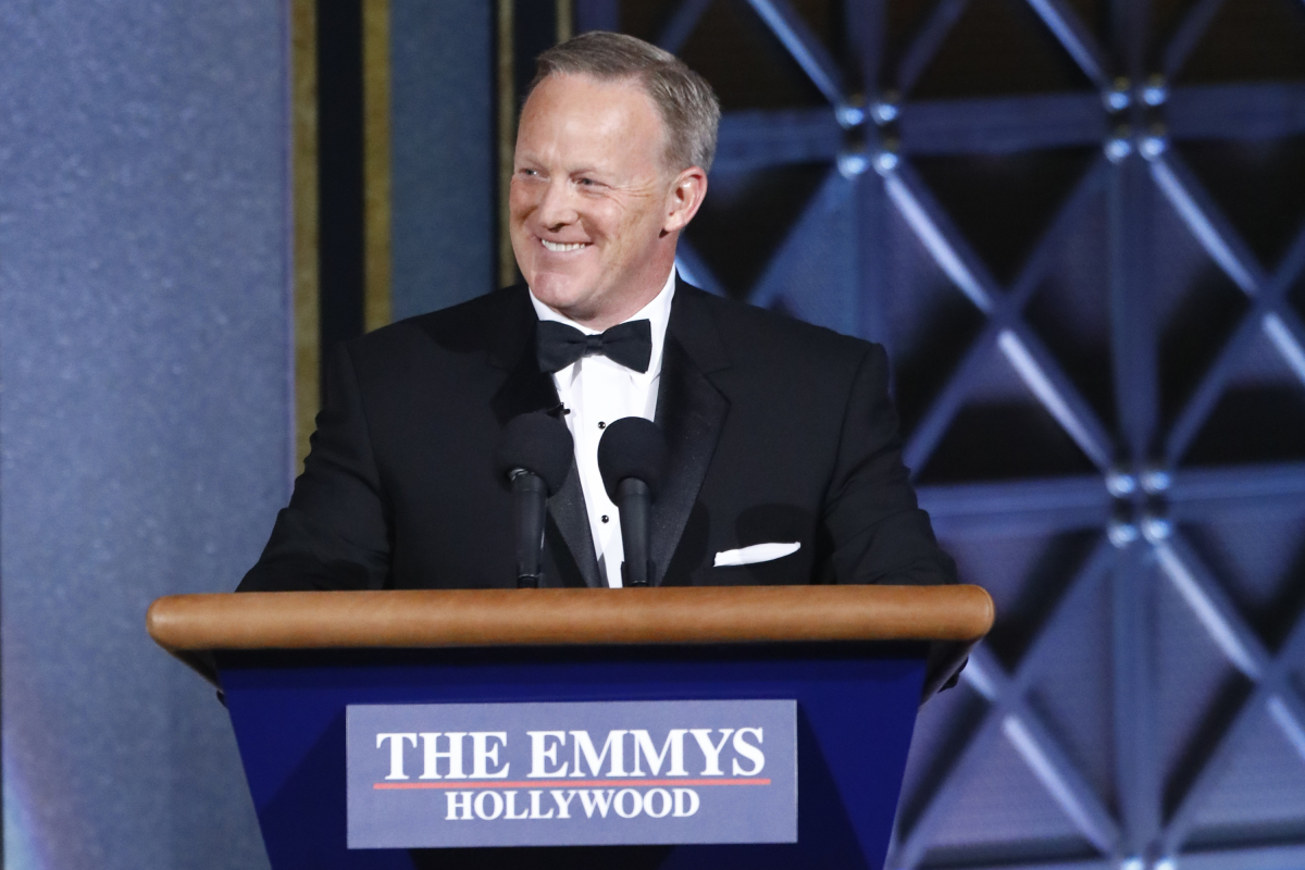 The 69th Primetime Emmy Awards Emmys Sean Spicer
