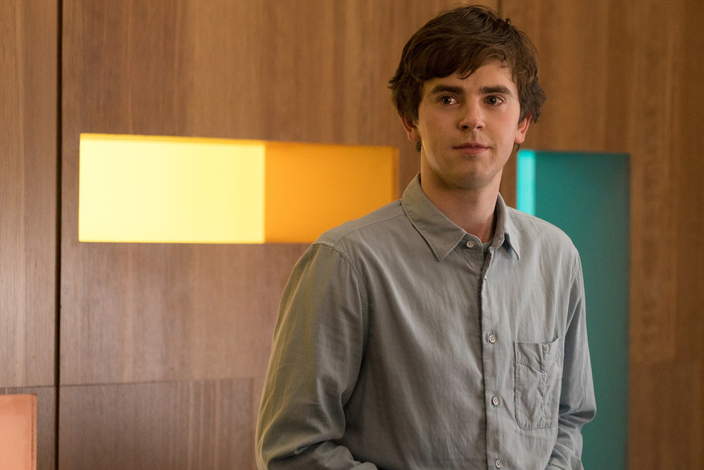Good doctor review freddie highmore can t save abc house for Freddie highmore movies and tv shows