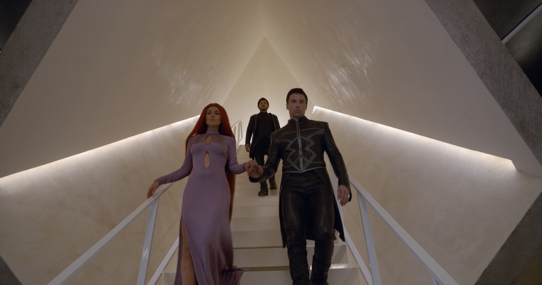 MARVEL'S INHUMANS - Create your destiny. Meet Marvel's Inhumans early in IMAX theatres September 1, and experience the full series starting September 29 on ABC. (ABC/Marvel)SERINDA SWAN, IWAN RHEON, ANSON MOUNT