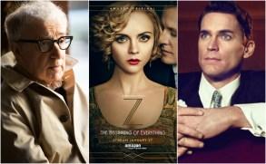 "Woody Allen; Christina Ricci ""Z: The Beginning of Everything; Matt Bomer, ""The Last Tycoon"""