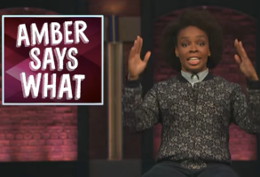 Amber Says What Late Night with Seth Meyers