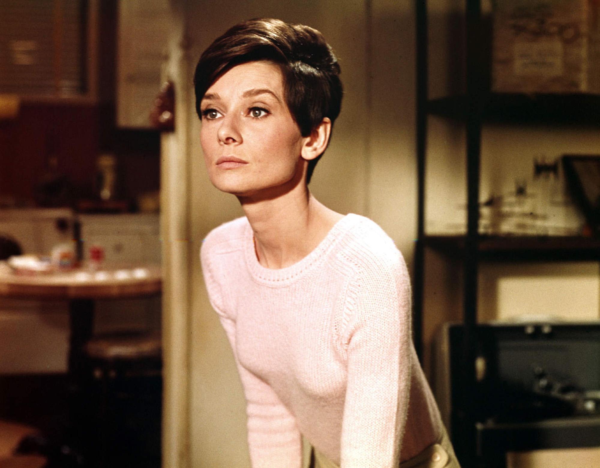 Audrey Hepburn, Wait until dark (1967) starring Alan Arkin and Richard Crenna