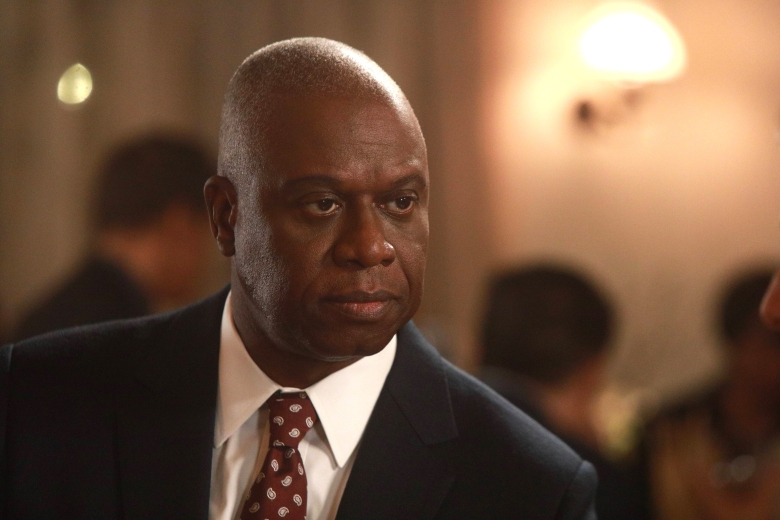"BROOKLYN NINE-NINE: Andre Braugher in the first half of the special one-hour ""Your Honor/The Slaughterhouse"" episode of BROOKLYN NINE-NINE airing Tuesday, May 16 (8:00-9:00 PM ET/PT) on FOX.Cr: Jordin Althaus/FOX"