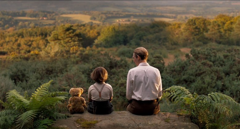 """Goodbye Christopher Robin"" winnie the pooh movie"