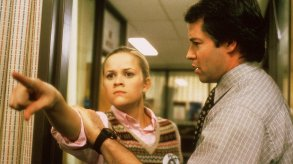 Reese Witherspoon and Matthew Broderick in Election
