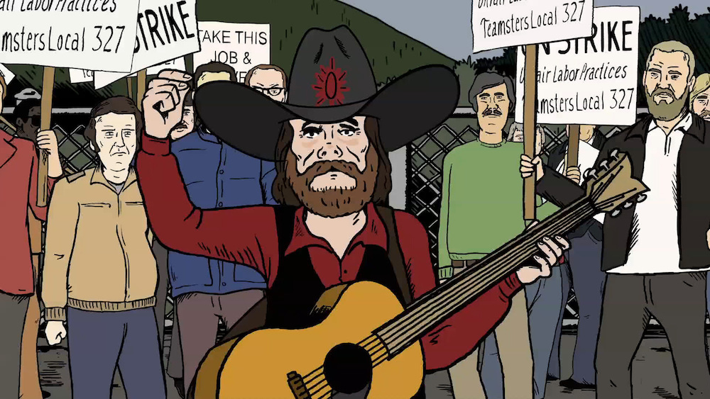 Mike Judge Presents Tales From the Tour Bus Season 1 Johnny Paycheck