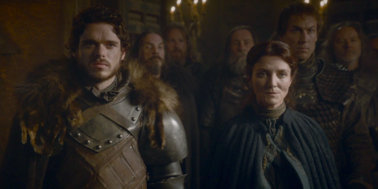 """Richard Madden and Michelle Fairley, """"Game of Thrones"""""""