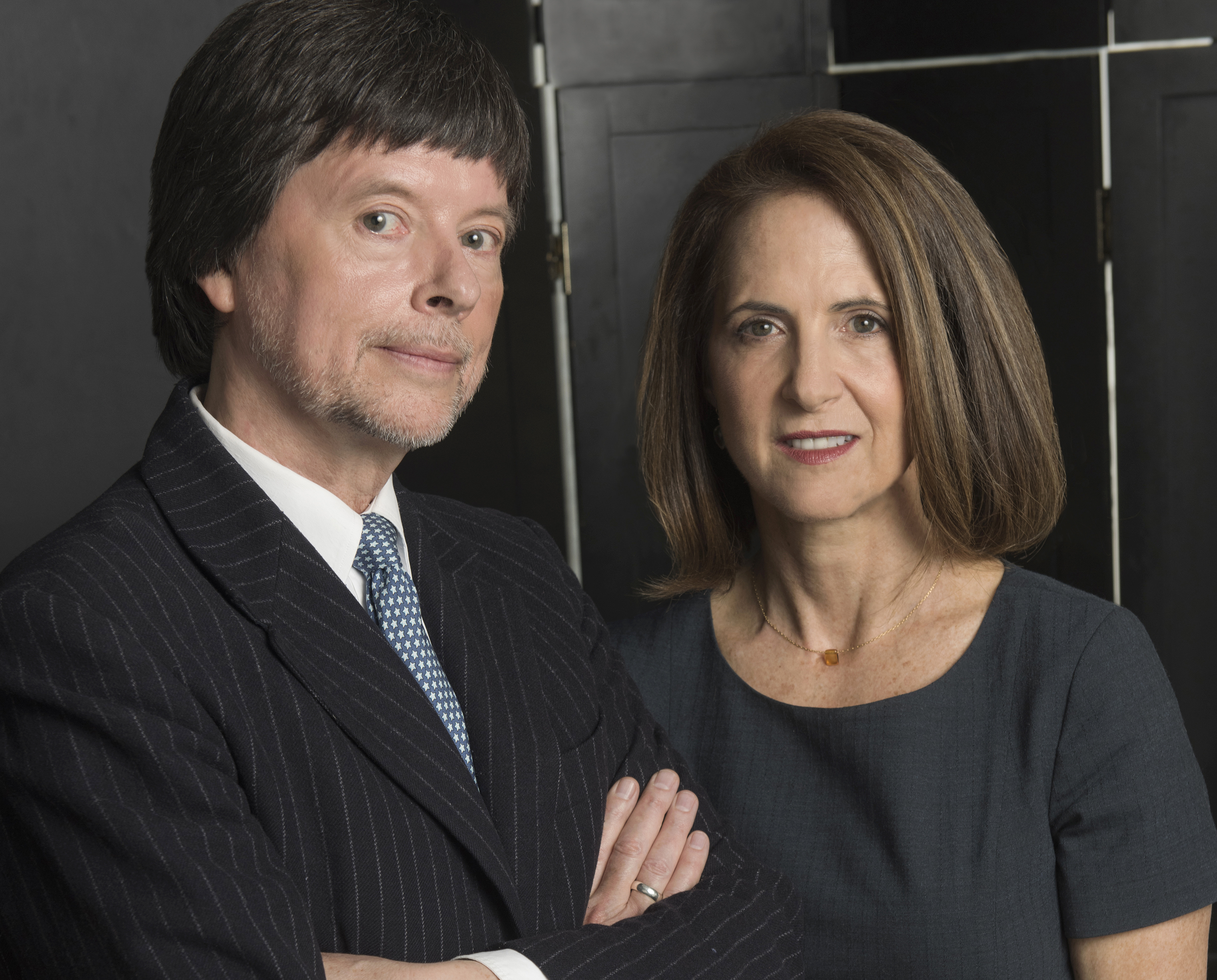 Portraits of filmmakers Ken Burns, Lynn Novick and Sarah Botstein taken on May 3, 2017.Credit: Stephanie Berger