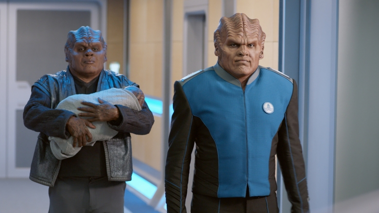 THE ORVILLE: L-R: Chad L. Coleman and Peter Macon in the ÒAbout a GirlÓ time period premiere episode of THE ORVILLE airing Thursday, Sept. 21 (9:00-10:00 PM ET/PT) on FOX. ©2017 Fox Broadcasting Co. Cr: Michael Becker/FOX. edit